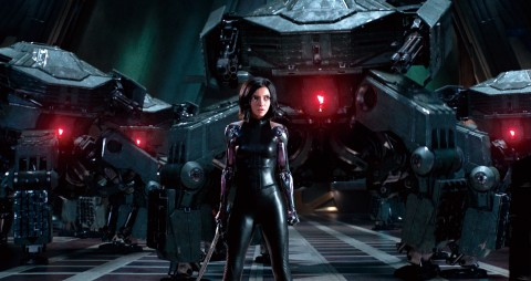 Rosa Salazar stars as Alita in Twentieth Century Fox's ALITA: BATTLE ANGEL.