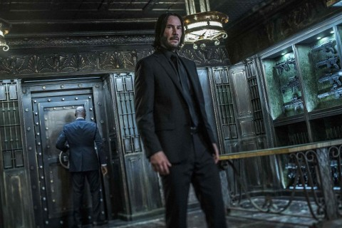 Keanu Reeves stars as 'John Wick' in JOHN WICK: CHAPTER 3 - PARABELLUM.