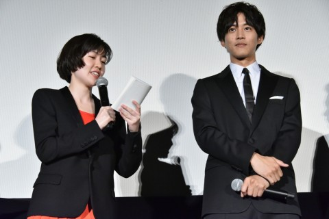 『新聞記者』完成披露上映会オフィシャル2