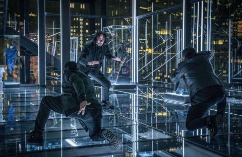 Keanu Reeves stars as 'John Wick' in JOHN WICK: CHAPTER 3 – PARABELLUM.