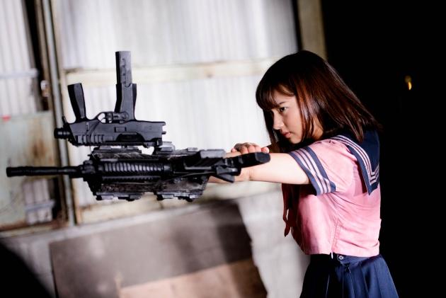 追加アクション7『爆裂魔神少女 バーストマシンガール』
