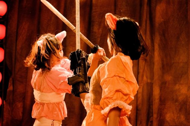 追加アクション4『爆裂魔神少女 バーストマシンガール』