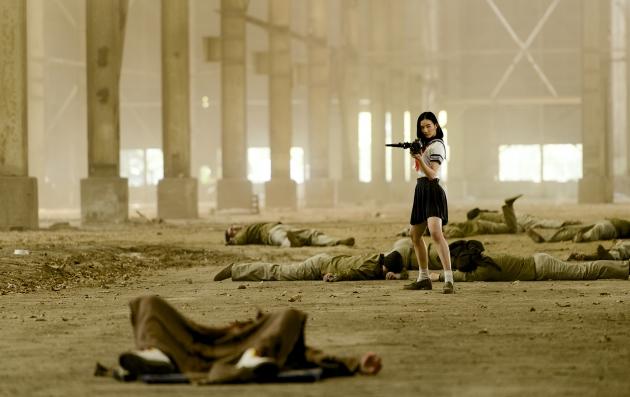追加アクション6『爆裂魔神少女 バーストマシンガール』