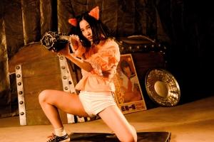 追加アクション8『爆裂魔神少女 バーストマシンガール』